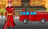 Brave Fire Man