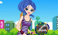 Tennis Sports Girl